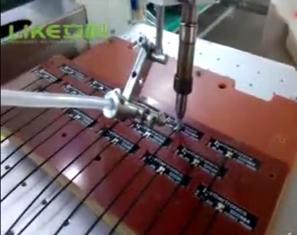 pcb板通讯天线焊接视频