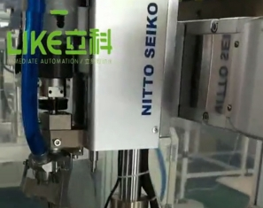 吹式自检螺丝机